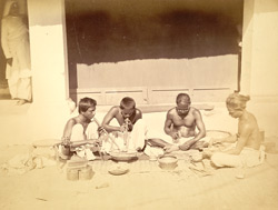 Sonars (goldsmith caste) at work, Cuttack 4930